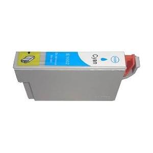 cartouche cyan pour imprimante Epson Stylus Office B40w équivalent T1002