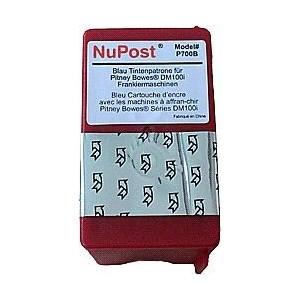cartouche bleu pour imprimante Pitney Bowes Dm100i équivalent 793-5BI