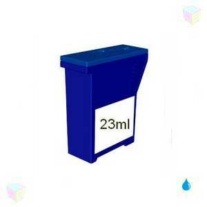 cartouche bleu compatible Pitney Bowes Dm50 équivalent K700B - K780003