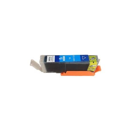 cartouche cyan pour imprimante Canon Pixma Ip7250 équivalent CLI551CXL