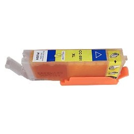 cartouche yellow pour imprimante Canon Pixma Ip7250 équivalent CLI551YXL