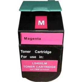 toner magenta pour imprimante Lexmark C540dw équivalent C540H2MG