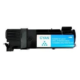 toner cyan pour imprimante Dell 2135cn équivalent 593-10313