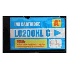 Pack 2 cartouches pour imprimante Lexmark Office Edge Pro 4000 équivalent 14L0175E - N°210XL