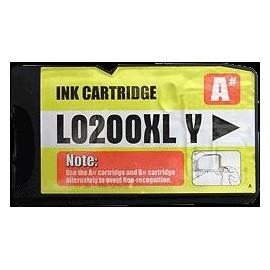 Pack 2 cartouches pour imprimante Lexmark Office Edge Pro 4000 équivalent 14L0177E - N°210XL