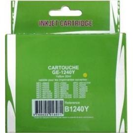cartouche yellow pour imprimante Brother Mfcj955dn équivalent LC1240Y
