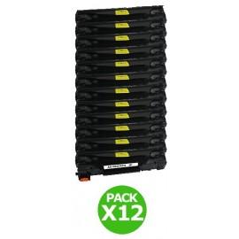 Pack 12 toners pour imprimante HP Laserjet équivalent CE278A