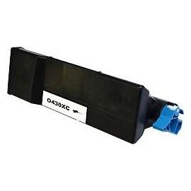 toner noir pour imprimante Oki B420 équivalent 43979202