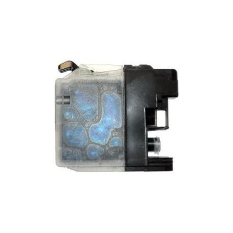 cartouche cyan pour imprimante Brother Dcpj132w équivalent LC123C