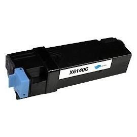 toner cyan pour imprimante Xerox Phaser 6140 équivalent 106R1477