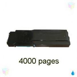 toner compatible 593BBBT cyan pour Dell C2660dn