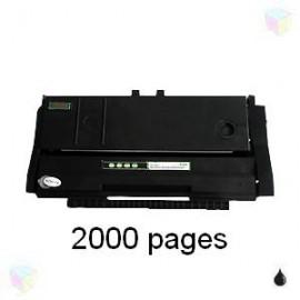 toner compatible 407166 noir pour Ricoh Aficio Sp100e