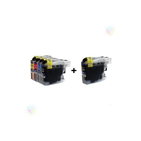 cartouche compatible LC223 VALUE PACK pack noir+couleur pour Brother Mfcj480dw