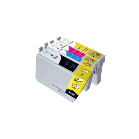pack 4 cartouches pour imprimantes Epson équivalent C13T13064010