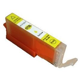 cartouche compatible CLI571YXL yellow pour Canon Mg5750