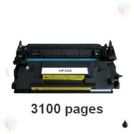 Toner noir compatible CF226A 26A