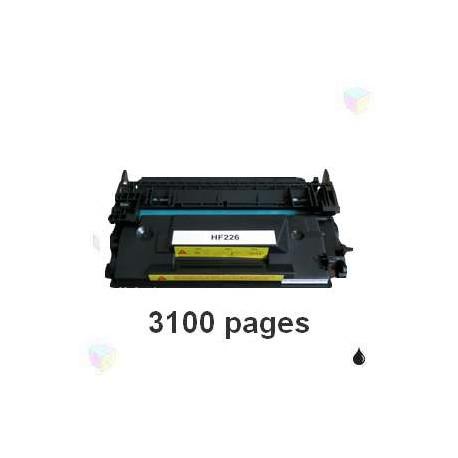 toner compatible CF226A 26A noir pour HP Laserjet Pro M402d