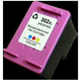 cartouche compatible F6U67AE 302XL couleur pour HP Deskjet 1100