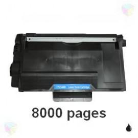 toner compatible TN3480 noir pour Brother Dcpl5500dn