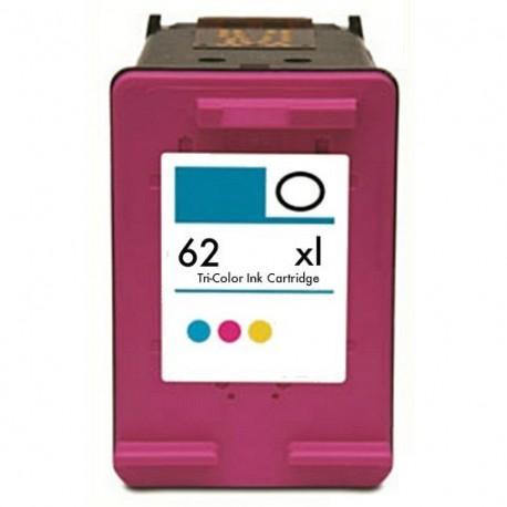 Alternatif HP C2P07AE / 62XL - couleurs