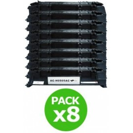 Pack 2 cartouches pour imprimante Canon I-sensys Lbp 6670dn équivalent CRG-719