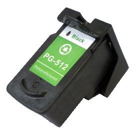 cartouche noir pour imprimante Canon équivalent PG512 12ml
