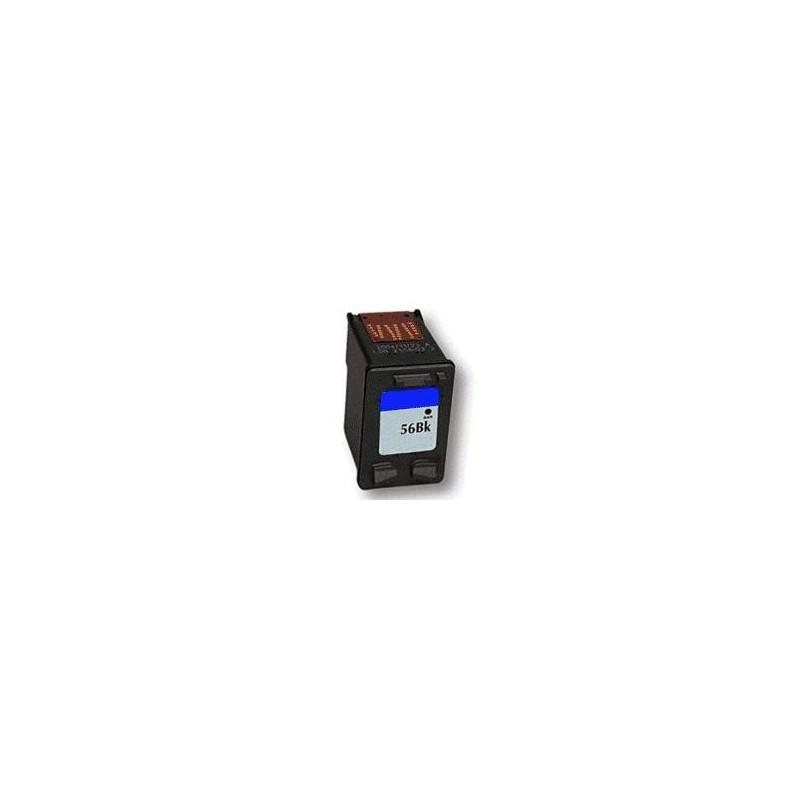 cartouche compatible noir hp c6656a 56. Black Bedroom Furniture Sets. Home Design Ideas