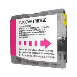 cartouche magenta pour imprimante Brother Dcp 357c équivalent LC1000M