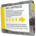 cartouche yellow pour imprimante Brother Mfc 5860cn équivalent LC1000Y