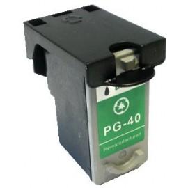 cartouche noir pour imprimante Canon Pixma Mp 140 équivalent PG40