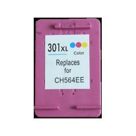 cartouche couleur pour imprimante HP Deskjet 1050 équivalent CH564EE HP N°301XL
