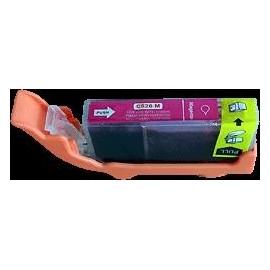 cartouche magenta pour imprimante Canon Pixma Ip4850 équivalent CLI-526M
