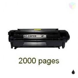 toner noir pour imprimante Canon Fax L100 équivalent FX9 - FX10