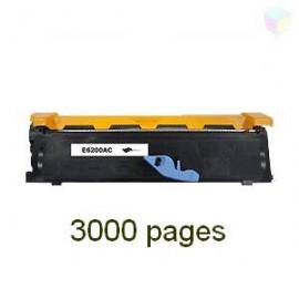 toner noir pour imprimante Epson Epl 6200 L équivalent C13S050167