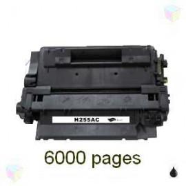 toner noir pour imprimante HP Laserjet P3010 équivalent CE255A
