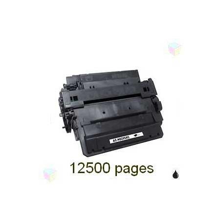 toner noir pour imprimante HP Laserjet P3010 équivalent CE255X