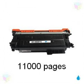 toner cyan pour imprimante HP Color Laserjet Cp4520 équivalent CE261A HP N° 648A