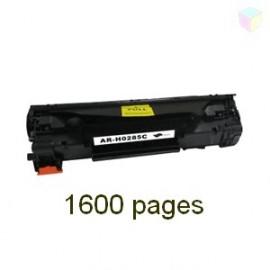 Toner noir universel HP CE285A CB435A CB436A - Canon CRG712 CRG713 CRG725