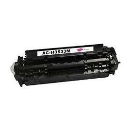 toner magenta pour imprimante HP Color Laserjet Cm 2320 Mfp équivalent CC533A