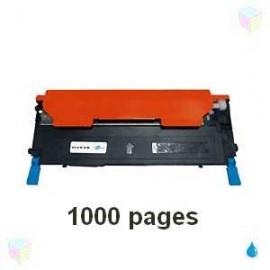 toner cyan pour imprimante Samsung Clx 3185 équivalent CLT-C4072S