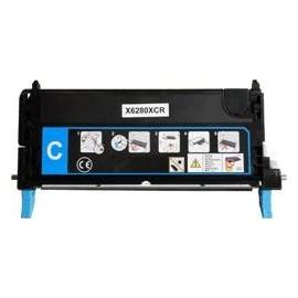 toner cyan pour imprimante Xerox Phaser 6280n équivalent 106R01392